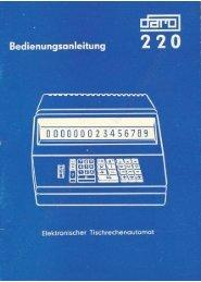 SOEMTRON Elektronischer Tisch... - Soemtron.org