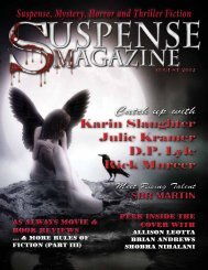 Suspense Magazine July 2012