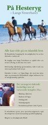 PÃ¥ Hesteryg - Hanstholm Camping