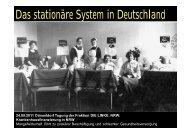 Das stationäre System in Deutschland - Die Linke NRW