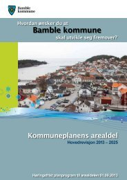 Les hele planen her - Bamble kommune