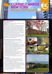 CLASSIC CAMPUS NEW YORK Nyack University