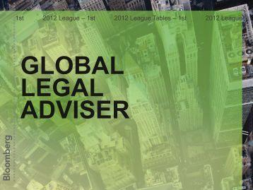 Global Legal Adviser - Bloomberg