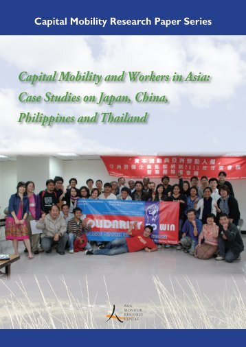 Capital Mobility and Workers in Asia: Case Studies on Japan, China ...