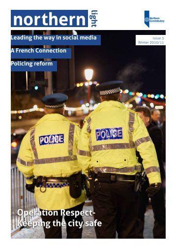 Issue 3 - Police Scotland
