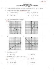 Final Exam Review Packet (pdf) - Eudora Schools