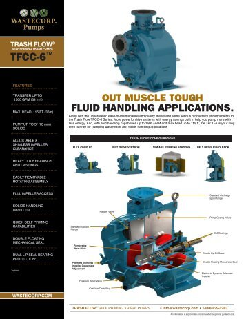 TFCC-6 Specs - Wastecorp Pumps