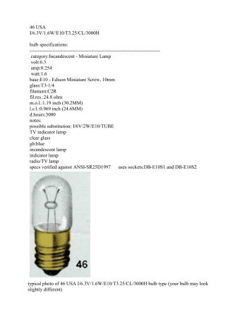 Specifications - Taillight King