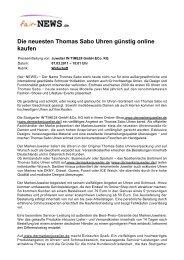 Die neuesten Thomas Sabo Uhren günstig online ... - Fair-news.de