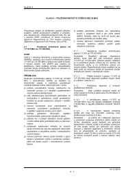 Hlava 4 - Letecká informační služba - Řízení letového provozu
