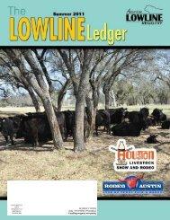 Summer 2011 Ledger - American Lowline Registry