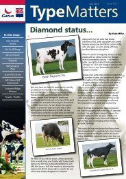 Diamond status... - Genus UK website