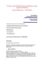 Strafanzeige gegen Lehmann vom 11. Juni 2009 - Kritische Polizisten