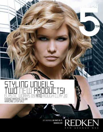 STYLING UNVEILS TWO NEWPRODUCTS! - Redken Professional