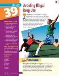 Lesson 39 Avoiding Illegal Drug Use - Warren County Schools