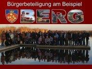 Präsentation Bürgerbeteiligung am Beispiel Berg - SPÖ ...