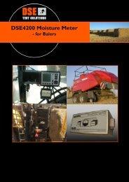 DSE4200 Moisture Meter - DSE Test Solutions