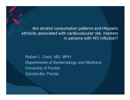 Are alcohol consumption patterns and Hispanic ethnicity associated ...
