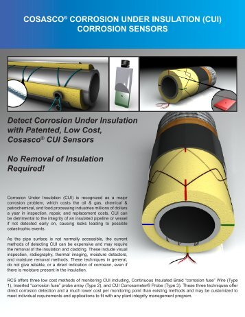 CORROSION SENSORS Detect Corrosion Under Insulation with ...