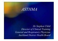 Asthma Case Studies (PDF Format)