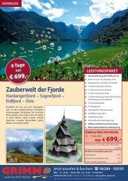 nur € 699,- - Grimm Reisen