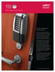 Access 700 PWI1 Sell Sheet - Access Control Solutions from ASSA ...