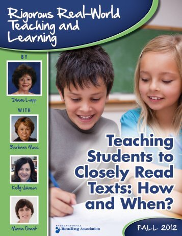 Closely Read - Barb De Graaf, Literacy Consultant - Home