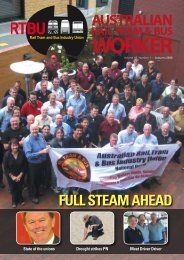 Journal - Rail, Tram and Bus Union