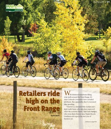 Retailers ride high on the Front Range Retailers ride high on the ...