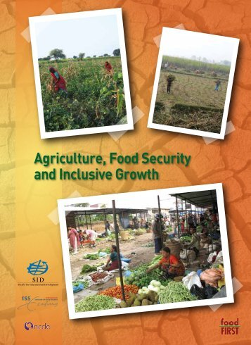 Agriculture, Food Security and Inclusive Growth - SID Netherlands ...