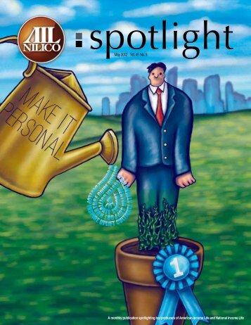 May 2012 Vol. 45 No. 5 - American Income Life