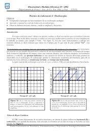 Electricidad y Medidas Eléctricas II – 2012. Práctico de Laboratorio I ...