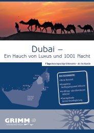 Dubai – - Grimm Reisen