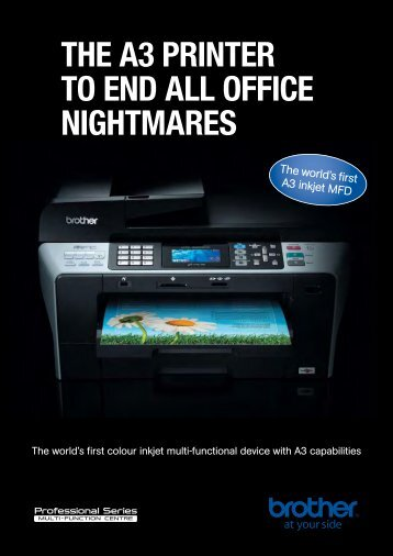 The A3 prinTer To end All office nighTmAres - Printer Supermarket