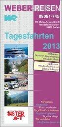 Tagesfahrten-Prospekt 2013 12 Seiten.cdr - Weber Reisen