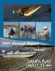 2011 Annual Report - Tampa Bay Watch