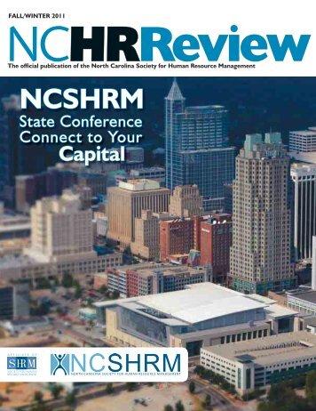 Fall 2011 - North Carolina State Council - Society for Human ...