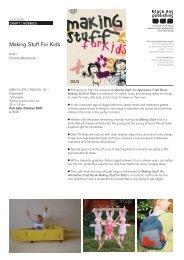 Making Stuff For Kids - Black Dog Publishing