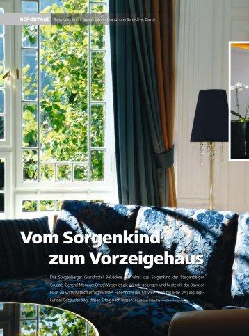 Steigenberger Belvédère Hotel Davos (Hotelier) - CARBONE
