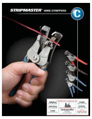 StripMaster Wire Strippers - City Electric Company Inc.