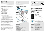 Flyer KTC TÜ und RT mit ECDL - ttg team training GmbH