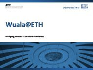 Wuala@ETH - ITEK - ETH Zürich