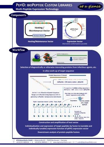brief overview - ATG:biosynthetics GmbH