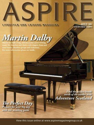 Martin Dalby - Aspire Magazine