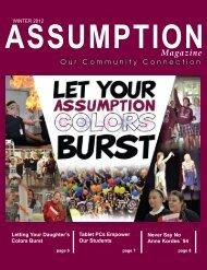 Magazine - Assumption High School