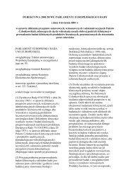 DYREKTYWA 2001/20/WE PARLAMENTU EUROPEJSKIEGO I ...