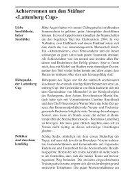 Stüürbord Ausgabe 2004-02 - Seeclub Stäfa