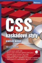 CSS - kaskádové styly - náhled - eReading