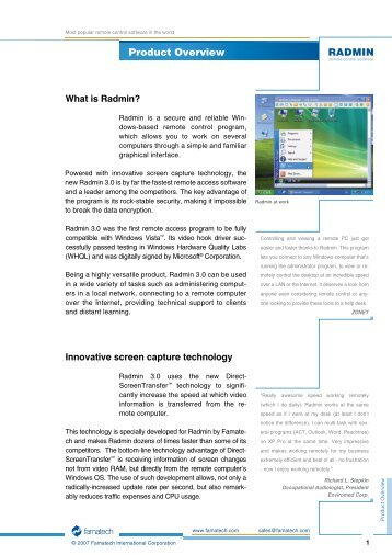 Radmin 3.4 Serial Number Download