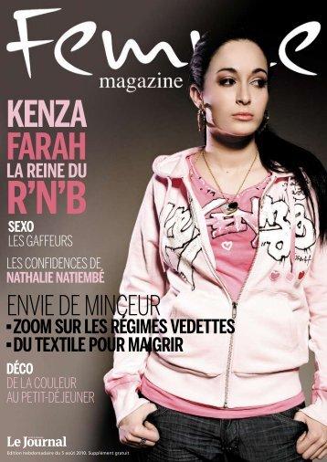 KENzA FARAH - Femme Magazine